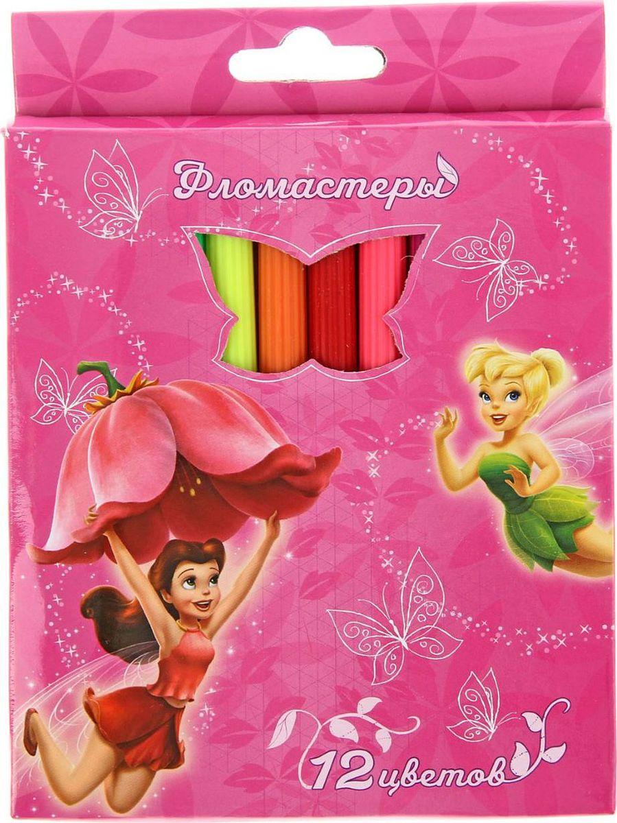 Disney Набор фломастеров Феи 12 цветов 1416913