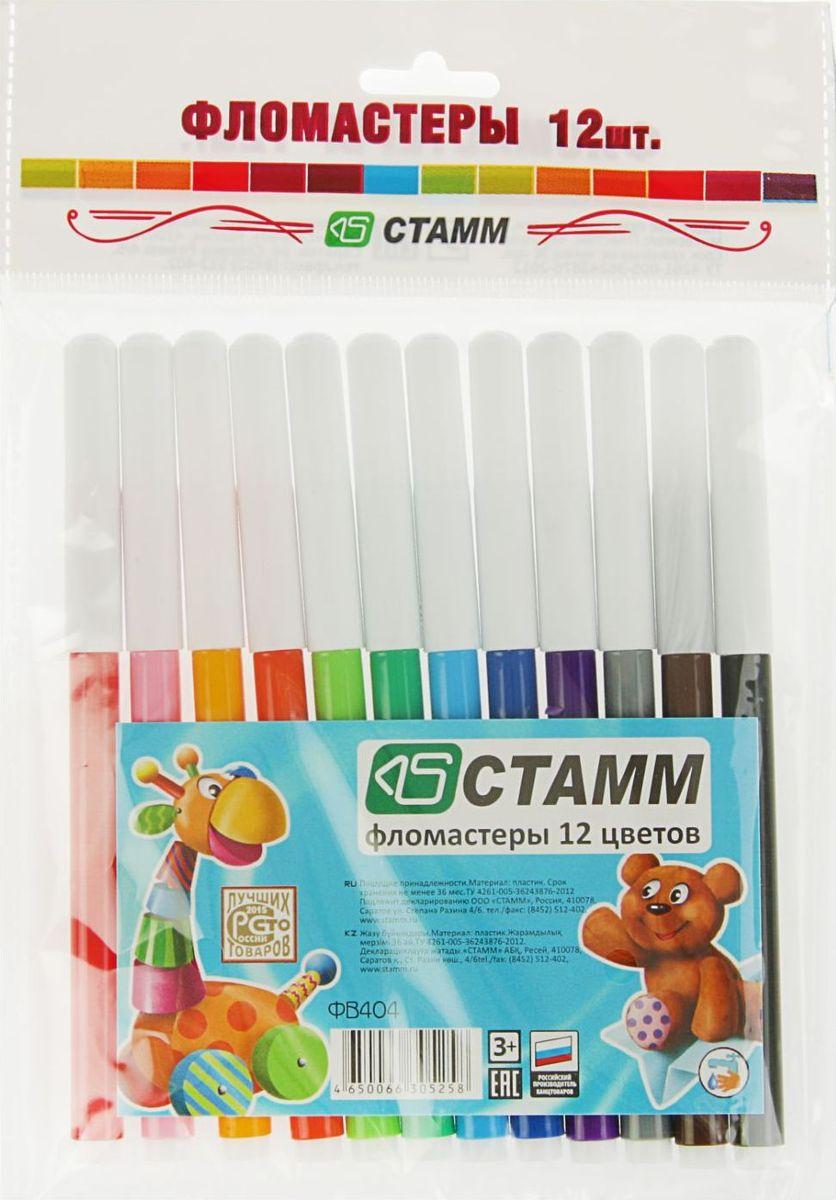 Стамм Набор фломастеров Веселые игрушки 12 цветов 18898101889810