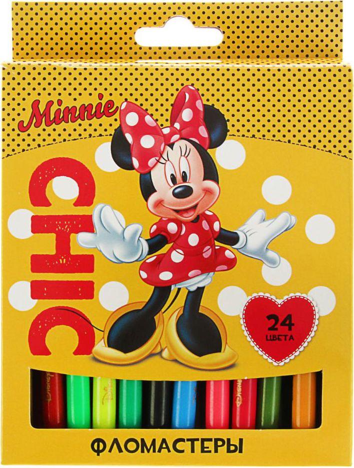 Disney Набор фломастеров Минни 24 цвета1984690