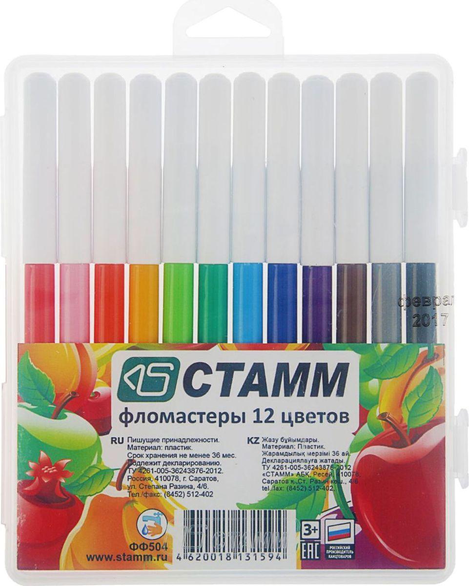 Стамм Набор фломастеров Летние фрукты 12 цветов2187678