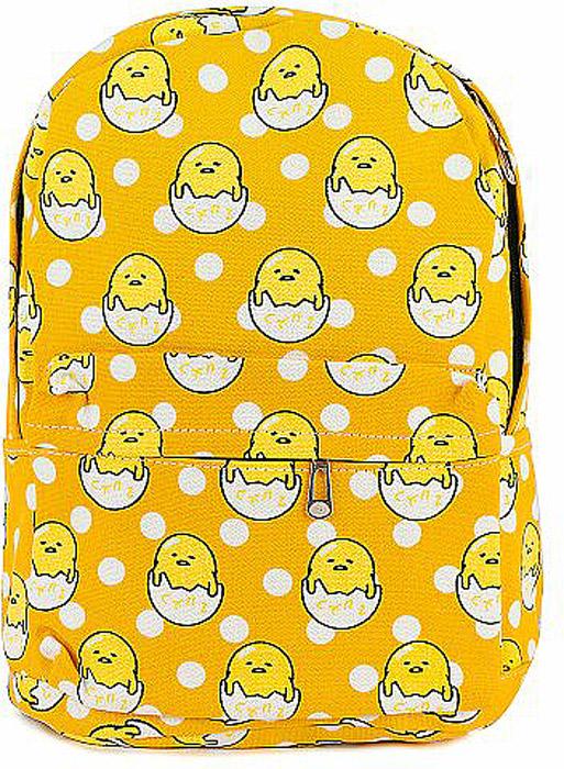 Рюкзак женский Kawaii Factory Цыплята, цвет: желтый. KW102-000307KW102-0003071 основное отделение, 3 внутренних кармана, 1 внешний карман, 2 боковых кармана