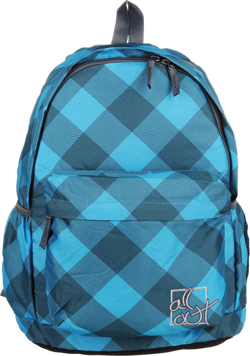 Hama Рюкзак All Out Luton Blue Dream Check серый голубой129218Рюкзак All Out Luton Blue Dream Check полиэстер серый/голубой