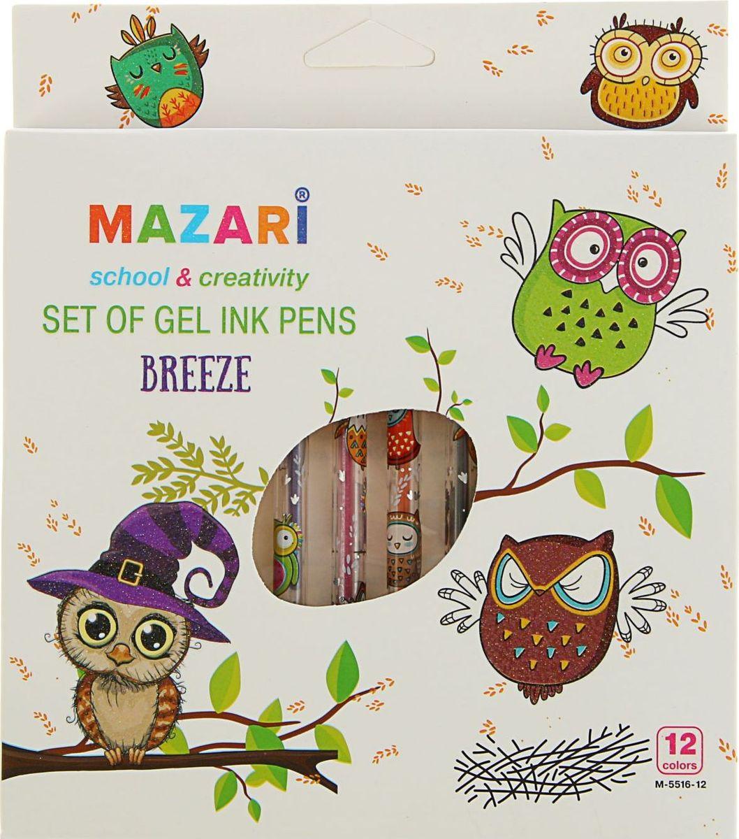 Mazari Набор гелевых ручек Breeze 12 цветов1975710