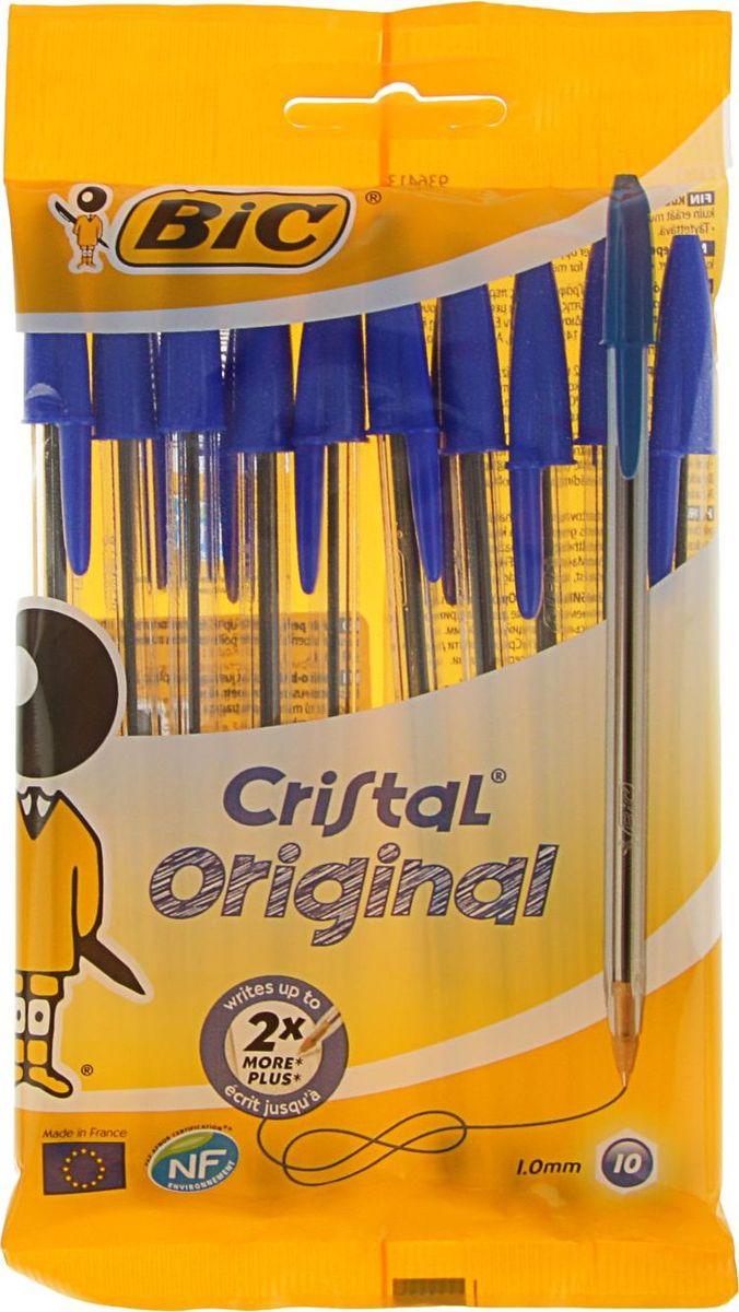 Bic Набор шариковых ручек Cristal Original синие 10 шт2336885