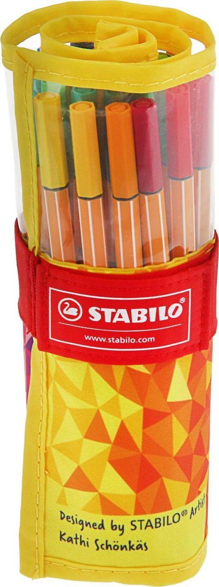 Stabilo Набор капиллярных ручек 25 цветов2364456