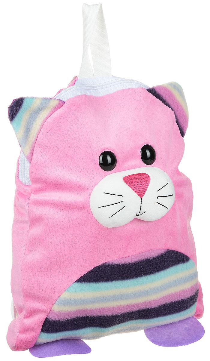 Fancy Мягкая игрушка-рюкзак Котенок RKT01