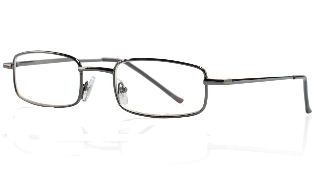 Kemner Optics Очки для чтения +3,0, цвет: темно-серый