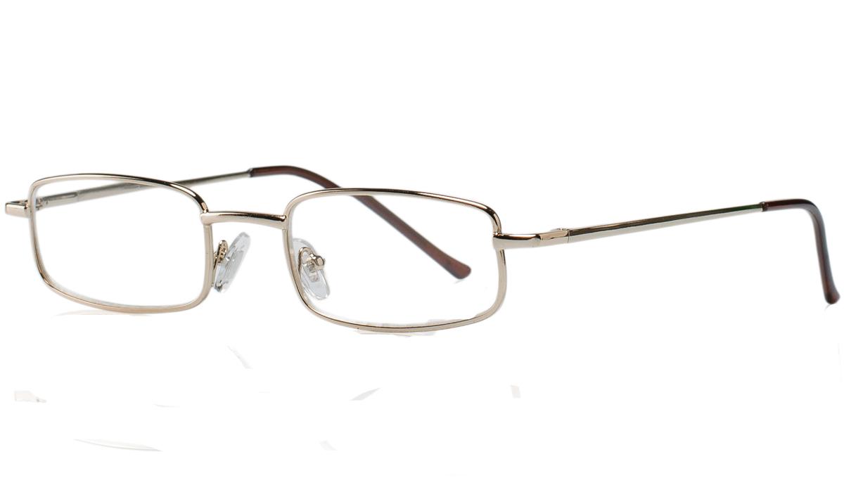 Kemner Optics Очки для чтения +2,5, цвет: золотой
