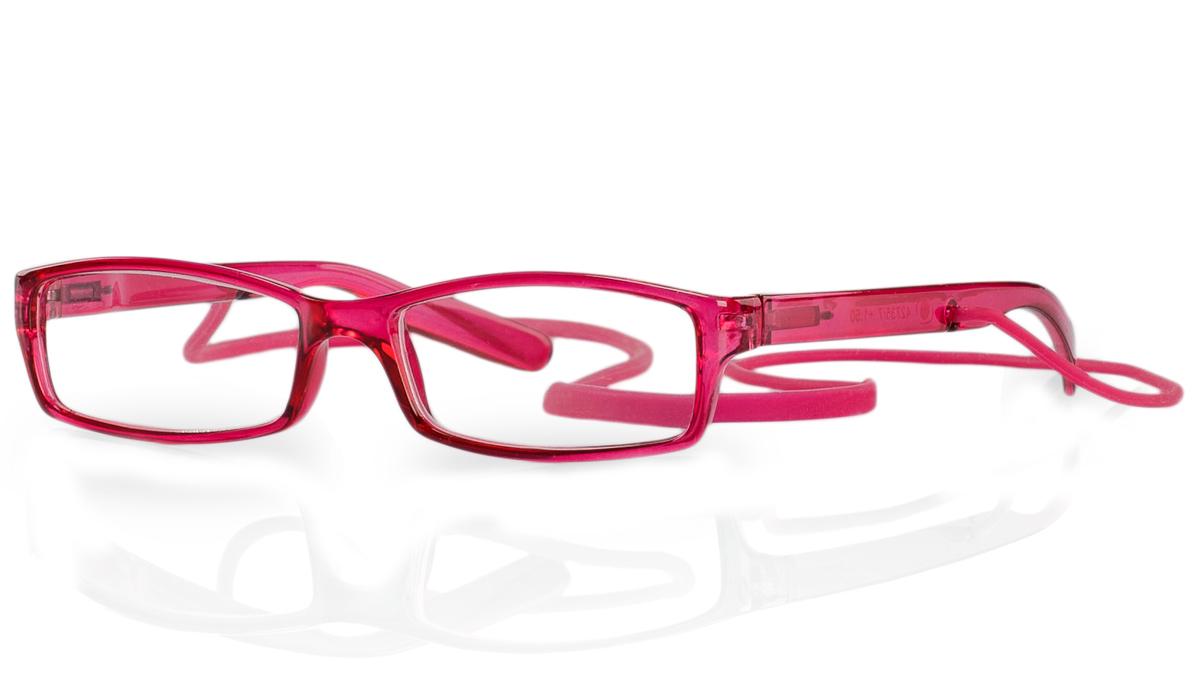 Kemner Optics Очки для чтения +2,0, цвет: красный