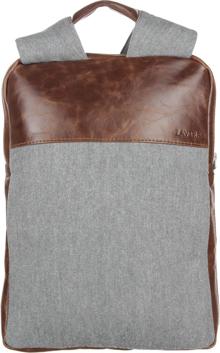 Рюкзак Zavtra, цвет: коричневый. zav10brozav10bro• Ультратонкий, можно носить под верхней одеждой; • Натуральная кожа, 100% хлопок. Спинка из дышащего неопрена; • Два отдельных отсека; • Карман на лямке под пластиковую карту. Миниатюрный рюкзак Zavtra настолько тонкий и компактный, что его можно носить под курткой. Мы проверили это на рейсах авиакомпании Победа, рюкзак успешно прошел испытания на незаметность. В ультратонкий (4 см) рюкзак ZAVTRA легко помещается ноутбук с диагональю до 13 дюймов. В рюкзаке имеется два основных отделения - для ноутбука и документов. Внутри также предусмотрены разнообразные карманы и кольцо для крепления карабина либо ретрактора. Идеально подходит к: - Ноутбук до 13 - Macbook Retina 13 - Macbook Air 13 - Macbook Pro 13