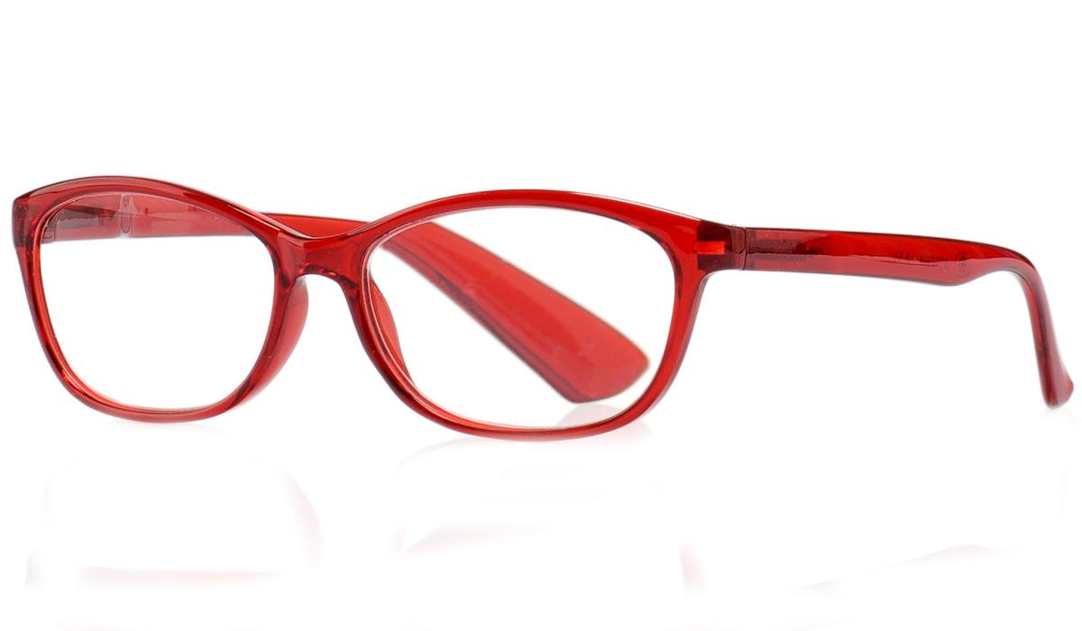 Kemner Optics Очки для чтения +1,5, цвет: красный
