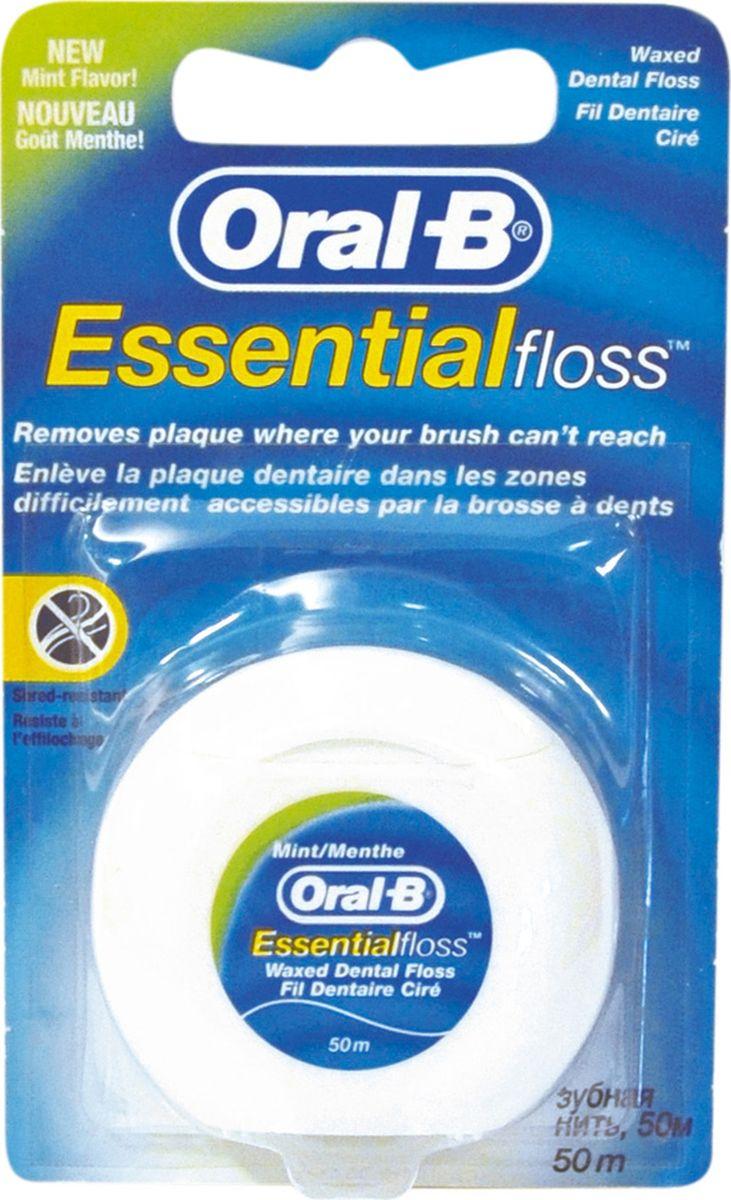 Oral-B Зубная нить Essential Floss Mint 50 м