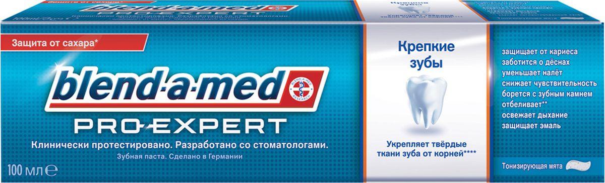 Зубная паста Blend-a-med ProExpert Крепкие зубы Тонизирующая мята 100млBM-81561918Blend-a-med Pro-Expert Крепкие зубы укрепляет твердые ткани зуба от корней, делая их в 3 раза более крепкими. Эта зубная паста обеспечивает реминерализацию эмали — то есть восполняет нехватку минеральных веществ на поврежденных участках. Она образует на поверхности зубов особую защитную пленку, которая препятствует размножению бактерий и предохраняет от вредного воздействия пищевых кислот, гарантируя длительную защиту полости рта. Более крепкие и здоровые зубы с первого дня при последующем применении! Blend-a-med Pro-Expert - единственная на рынке зубная паста, которая объединяет в себе полезные свойства стабилизированного олова и полифосфатов: Стабилизированный фторид олова: - обеспечивает комплексную защиту против проблем полости рта, - препятствует...