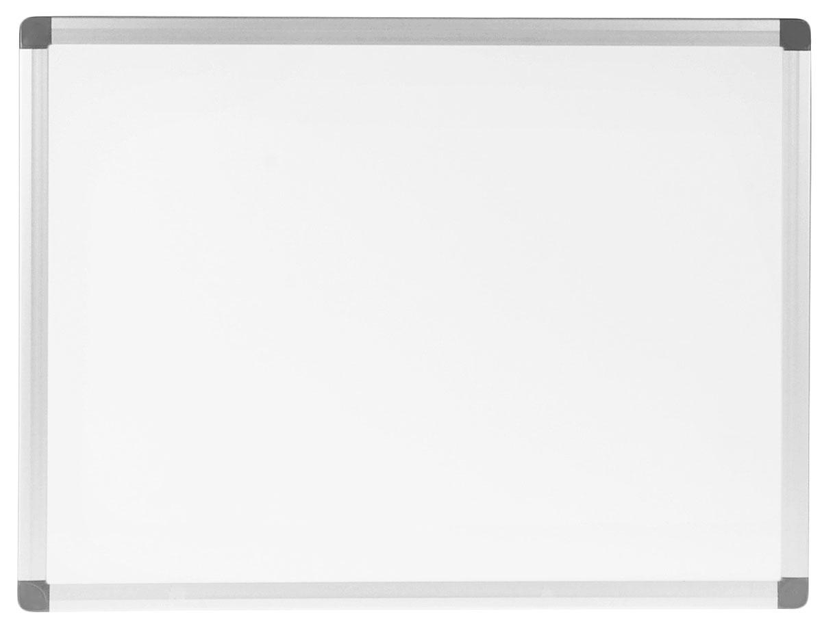 Index Доска магнитно-маркерная 45 см х 60 смIWB-302Белая магнитно-маркерная доска Index с улучшенной алюминиевой рамой будет незаменимым инструментом при проведении презентаций или обучающих занятий, а также удобное средство визуальной коммуникации для офиса. Информация размещается при помощи магнитов или маркеров, след от которых легко стирается даже сухой тряпкой. Эмаль - это очень прочное и стойкое к износу покрытие. Такое покрытие можно поцарапать только материалом тверже стекла. Доска окантована алюминиевой рамкой со скругленными пластиковыми углами.