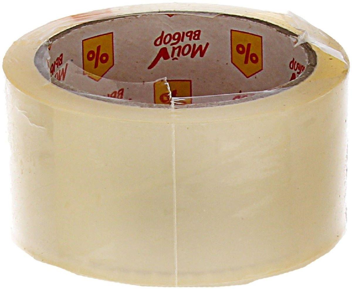 Мой выбор Клейкая лента 48 мм х 66 м цвет прозрачный 1268206