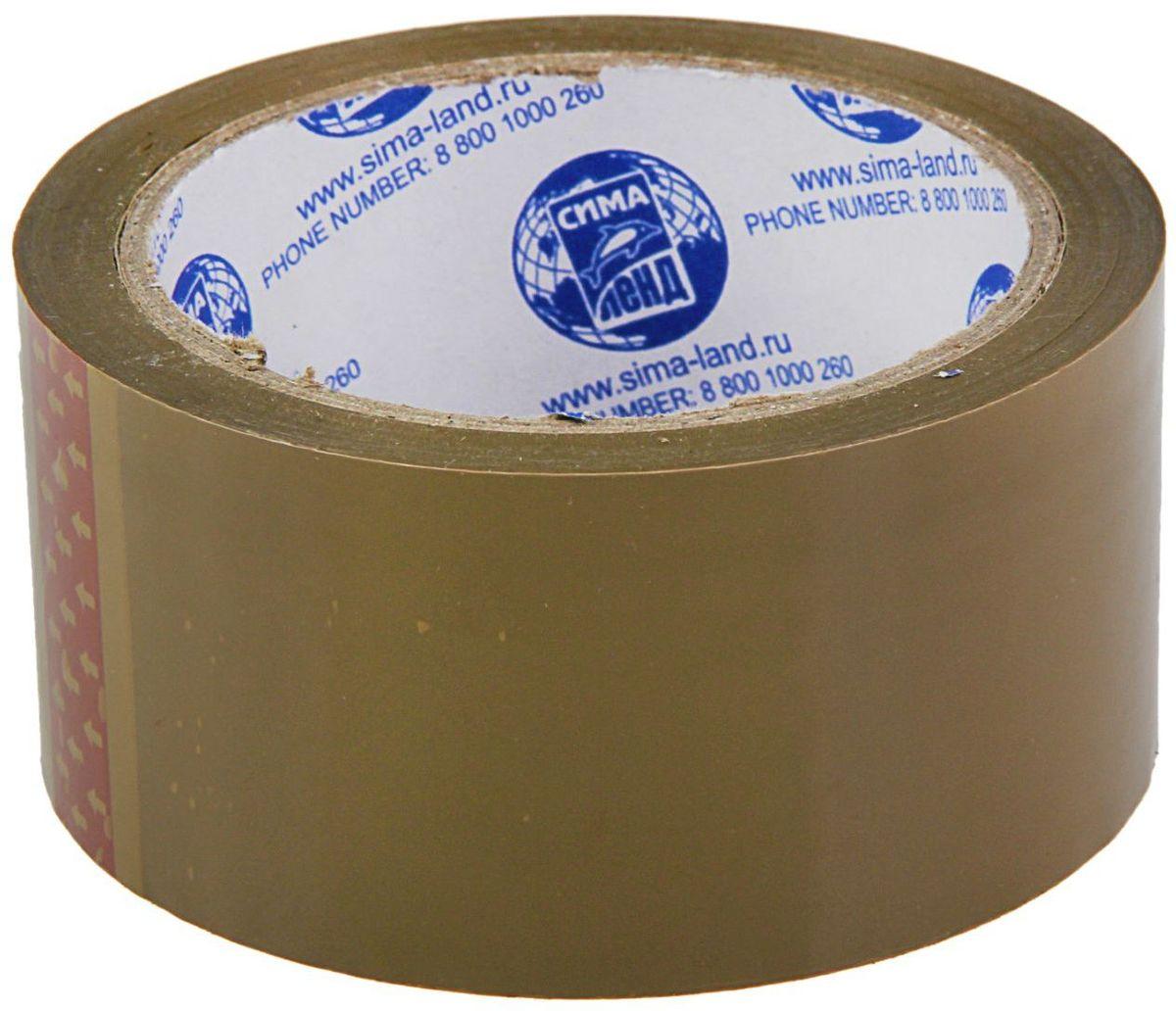 Клейкая лента 48 мм х 66 м цвет темно-коричневый1268207Упаковочная клейкая лента изготовлена из двуосноориентированного полипропилена (ВОРР) высокой прочности с нанесением клеевого слоя с одной стороны ленты. Она универсальна и используется, в основном, для заклейки гофрокоробов, оклеивания различных грузов, обернутых в стрейч-пленку или в полиэтиленовую пленку. Не следует клеить ленту непосредственно на неупакованную продукцию, так как следы клея плохо отмываются.