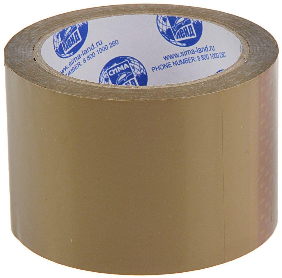 Клейкая лента 72 мм х 66 м цвет коричневый 12682141268214Упаковочная клейкая лента изготовлена из двуосноориентированного полипропилена (ВОРР) высокой прочности с нанесением клеевого слоя с одной стороны ленты. Она универсальна и используется, в основном, для заклейки гофрокоробов, оклеивания различных грузов, обернутых в стрейч-пленку или в полиэтиленовую пленку. Не следует клеить ленту непосредственно на неупакованную продукцию, так как следы клея плохо отмываются.