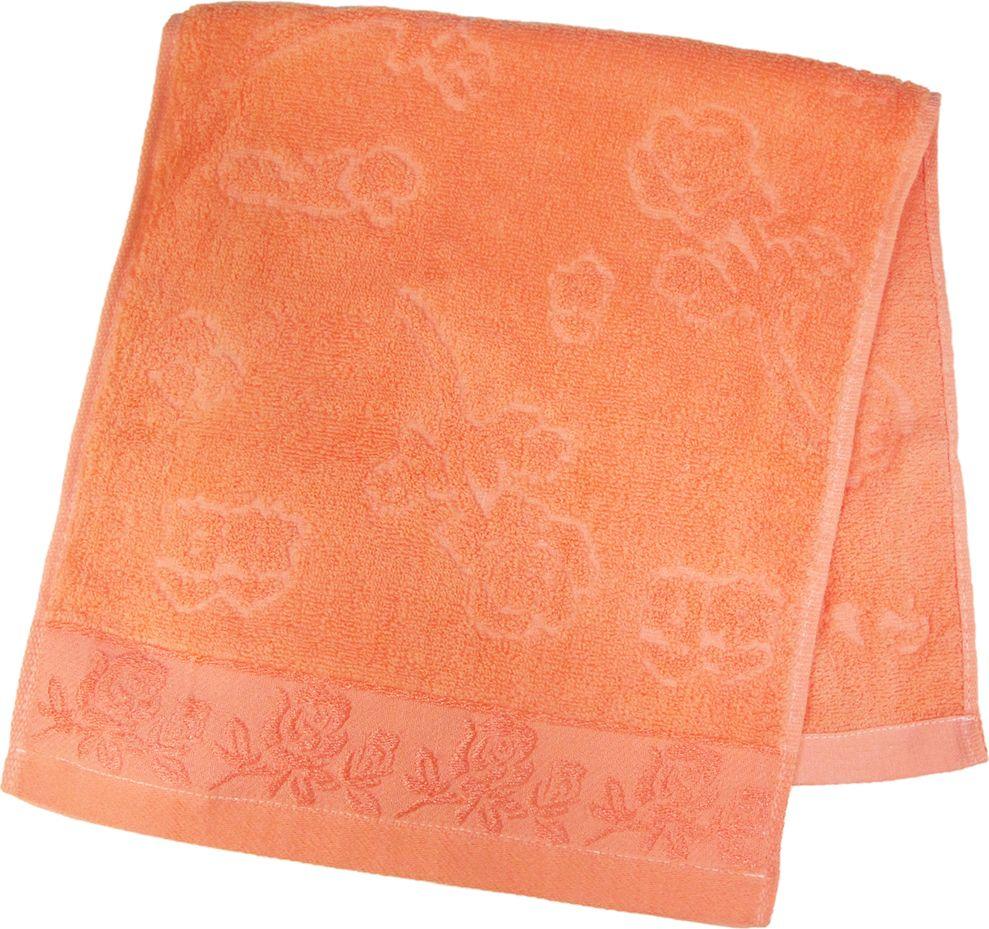 Полотенце махровое НВ Аваланж, цвет: персиковый, 33 х 70 см. м0746_1285593