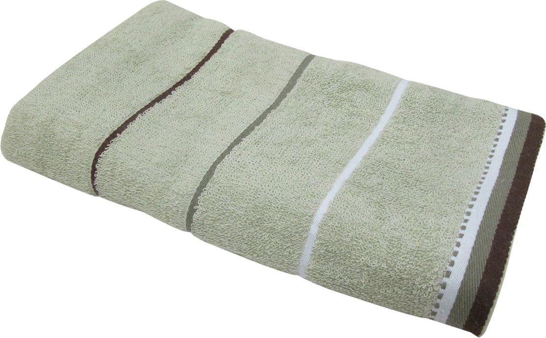 Полотенце махровое НВ Тренд, цвет: серый, 70 х 140 см. м0754_1187830