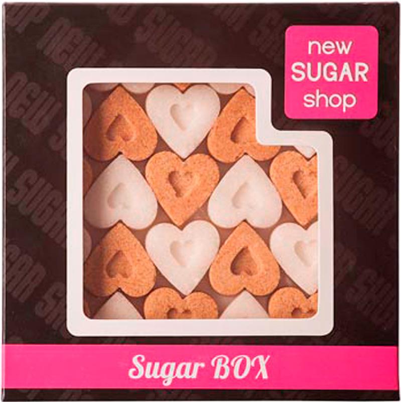 Sugar Box Сердечки фигурный сахар, 250 г 00-00000041