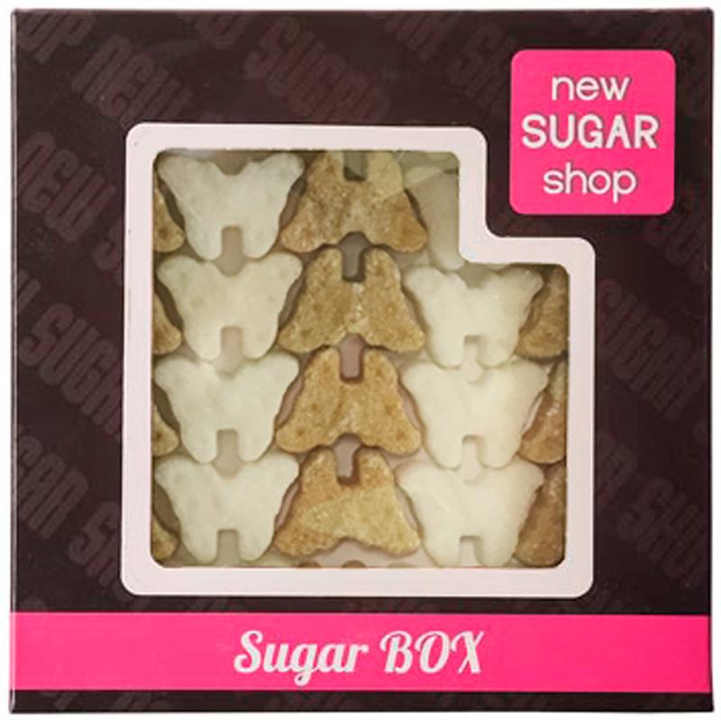 Sugar Box Бабочки фигурный сахар, 210 г00-00000060Производитель делает с любовью своими руками оригинальные формы для вашего стола, юбилея или в подарок. Порадуйте себя и своих близких оригинальными формами сахара. С фигурным сахаром ваше чаепитие будет неповторимым.