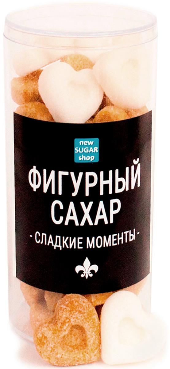 Сладкие моменты Сердечки фигурный сахар в тубе, 150 г 00-00000047