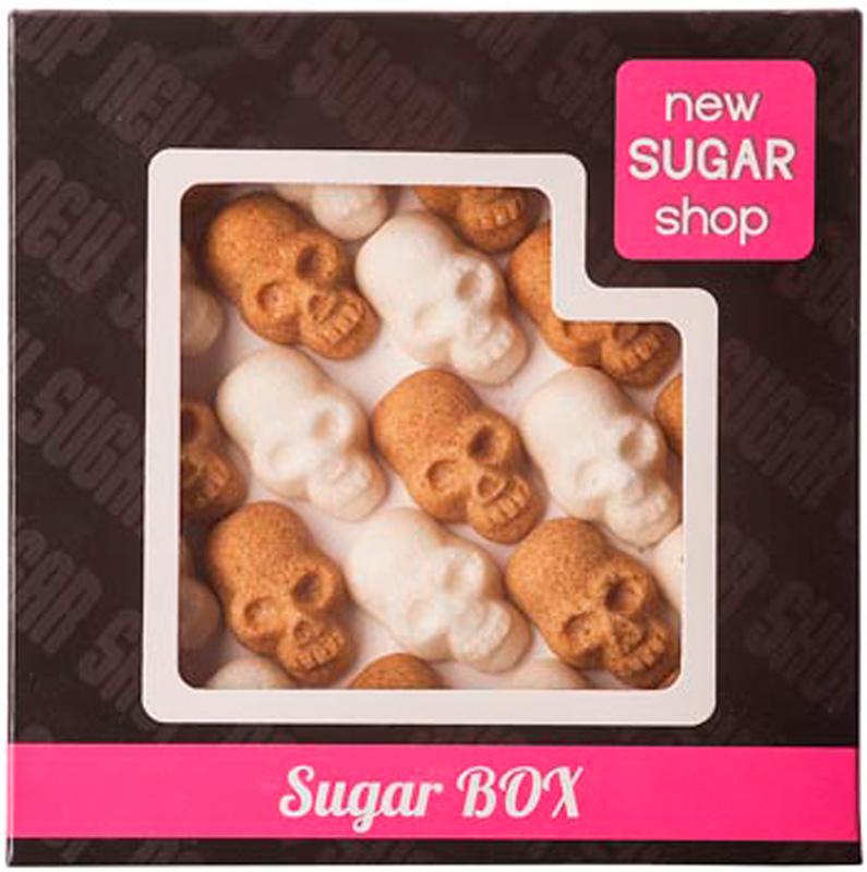 Sugar Box Черепа фигурный сахар, 250 г00-00000037Производитель делает с любовью своими руками оригинальные формы для вашего стола, юбилея или в подарок. Порадуйте себя и своих близких оригинальными формами сахара. С фигурным сахаром ваше чаепитие будет неповторимым.