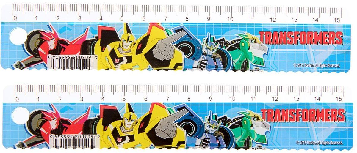 Transformers Набор линеек 15 см 2 шт