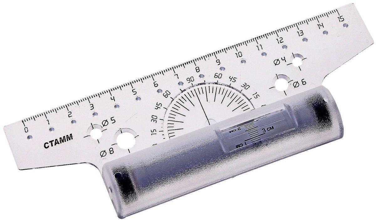 Стамм Линейка-рейсшина 15 см цвет прозрачный665870
