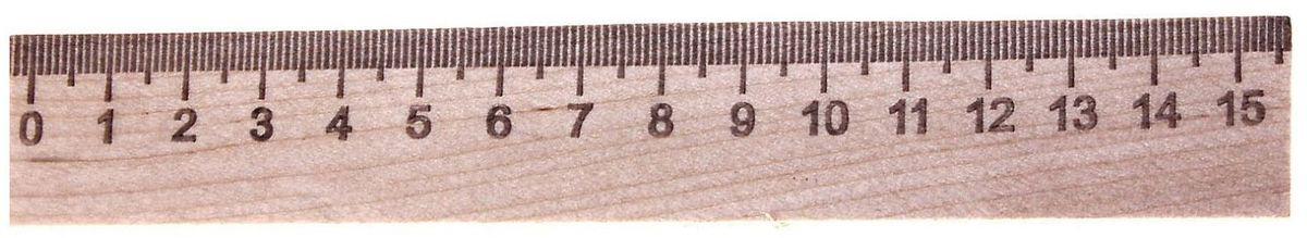 Эдельвейс Линейка 15 см689878