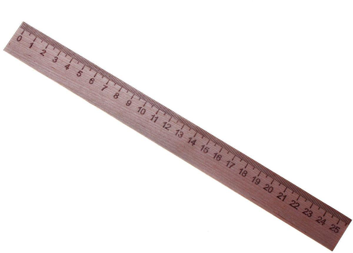 Эдельвейс Линейка 25 см