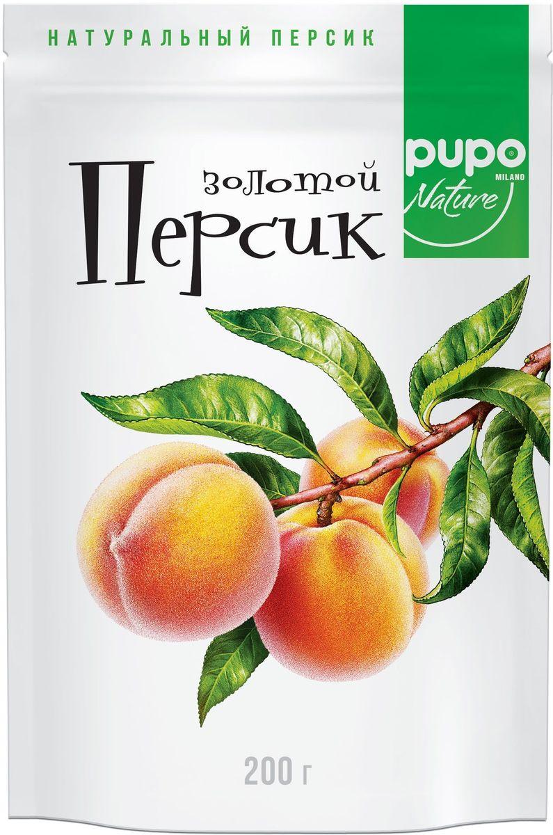 Pupo Персик золотой фрукты сушеные, 200 г14.5053