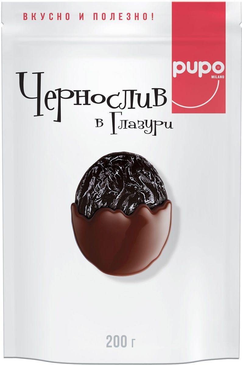 Pupo Чернослив в глазури конфеты, 200 г14.5428