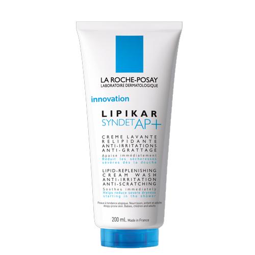 La Roche-Posay Lipikar Syndet АП+ 200млM9147100Липидовосстанавливающий очищающий крем-гель для лица и тела разработан для очень сухой, раздраженной, склонной к атопии кожи. Мягко очищает кожу младенцев, детей и очень сухую кожу взрослых. Нормализует липидный баланс кожи; Моментально смягчает кожу; Уменьшает выраженную сухость сразу после душа. Подходит для очищения кожи головы детей. Воздействует на все признаки, характерные для атопичной кожи. Липидовосстанавливающий комплекс с содержанием масла ши восстанавливает и укрепляет защитный барьер кожи. Ниацинамид - мгновенно успокаивает. Термальная вода La Roche-Posay - успокаивает, увлажняет ,снимает раздражение и обладает антиоксидантными свойствами. Для младенцев, детей и взрослых.