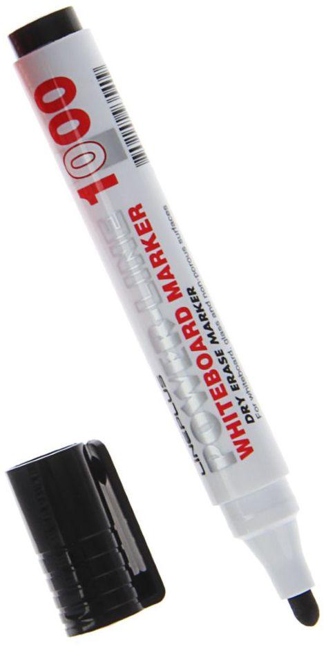 Line Plus Маркер для доски цвет черный1255311Маркер для белой доски в классической форме корпуса. Линия имеет яркий и насыщенный цвет, легко стирается, что является важнейшим качеством маркера. Высокое качество пишущего состава и наконечник из фиброволокна, позволит чертить яркие и насыщенные линии.