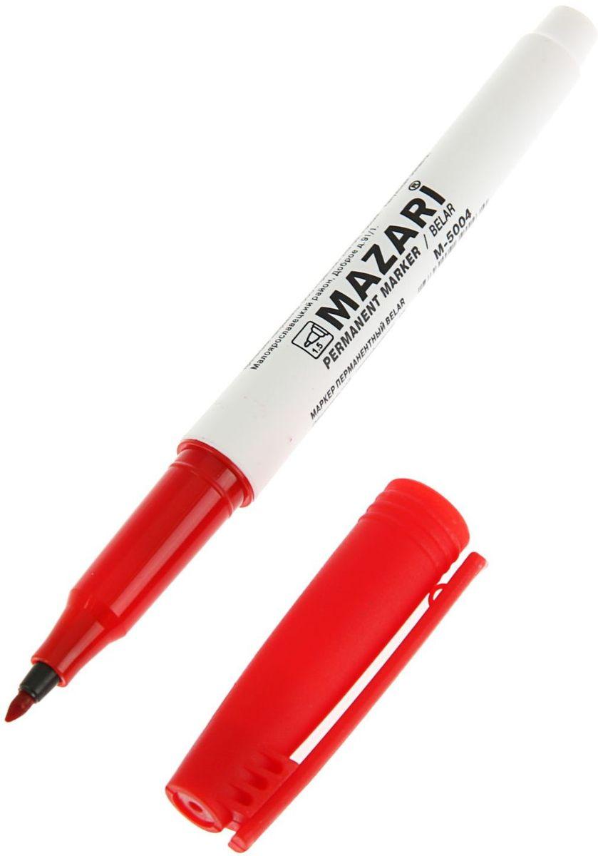 Mazari Маркер перманентный Belar цвет красный