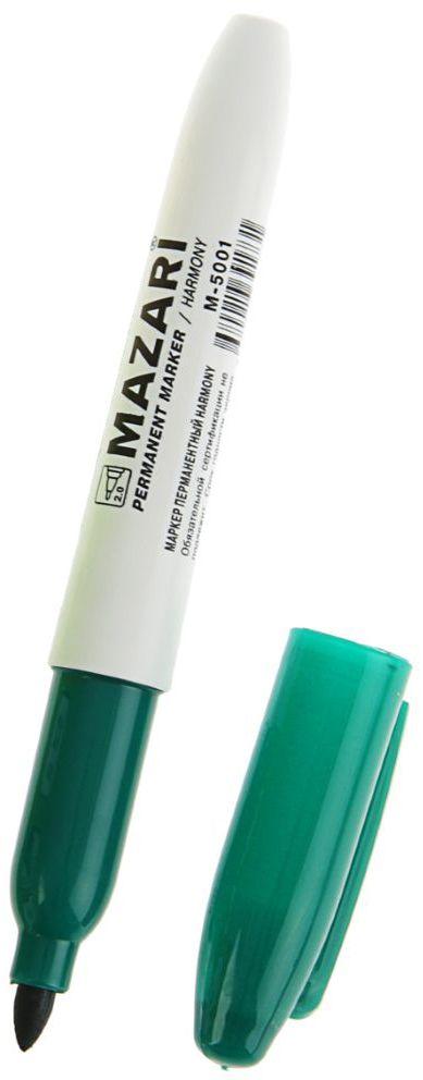 Mazari Маркер перманентный Harmony цвет зеленый1975683