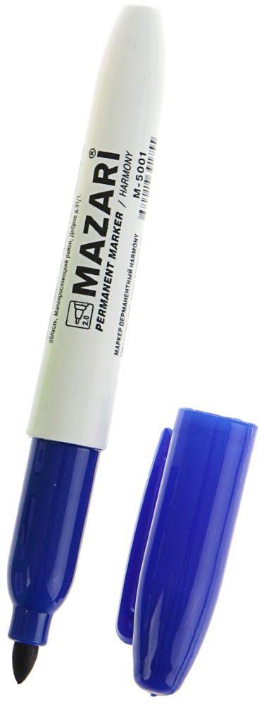 Mazari Маркер перманентный Harmony цвет синий1975685