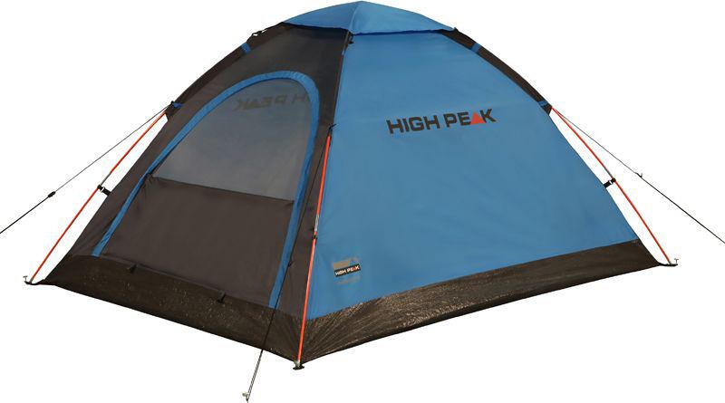 Палатка High Peak Monodome PU, цвет: синий, серый, 150 х 205 см. 1015910159Легкая компактная палатка купольного типа для легкоходов и рыбаков. Палатка проста в установке, дуги продеваются в рукава на внешнем тенте, что позволяет устанавливать палатку и в дождь. Материал тента имеет полиуретановое покрытие и водонепроницаемость не менее 1500 мм водяного столба. Швы проклеены. Это позволяет защититься от ветра и дождя. Вентиляционное окно расположено в верхней точке купола палатки и защищено тканевым грибом. Палатка имеет четыре оттяжки, что надежно ее фиксирует во время ветреной погоды. Вход в палатку защищает тканевый полог, а если погода жаркая, то можно оставить только москитную сетку на входе. Дуги: Фибергласс 7,9 мм Тент: Полиэстер 190Т 1500 мм, швы проклеены Дно: Армированный полиэтилен (3000 мм)