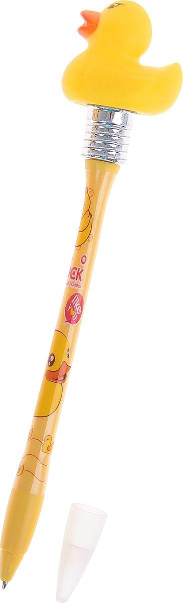 Ручка шариковая Утки с подсветкой синяя1019792Ручка с подсветкой Утки, горит от удара приведет в восторг окружающих! Шариковая ручка в необычном воплощении способна творить настоящие чудеса! Ведь этот практичный, яркий, всегда нужный предмет, которым мы пользуемся каждый день, умеет не только писать, но и поднимать настроение всем вокруг. Красочный дизайн будет дарить улыбки и море позитива — ее не захочется выпускать из рук. А если слегка постучать ей по ладони или по столу, произойдет настоящее волшебство: фигуристый наконечник ярко засветится. Такая ручка точно придется по вкусу маленьким деткам: браться за уроки они будут с большим энтузиазмом. А для взрослых будет оригинальным украшением рабочего стола и приятным напоминанием о человеке, который преподнес такой презент! Батарейки входят в комплект.