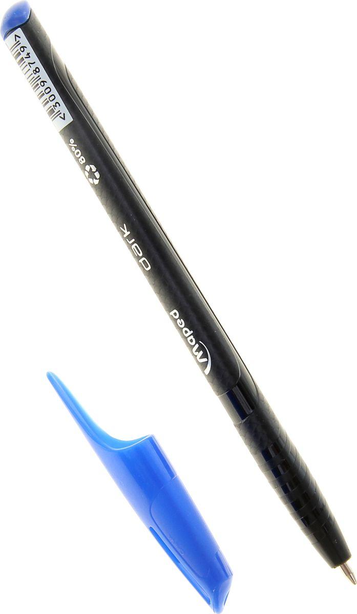 Maped Ручка шариковая Green Dark трехгранная синяя 1040787