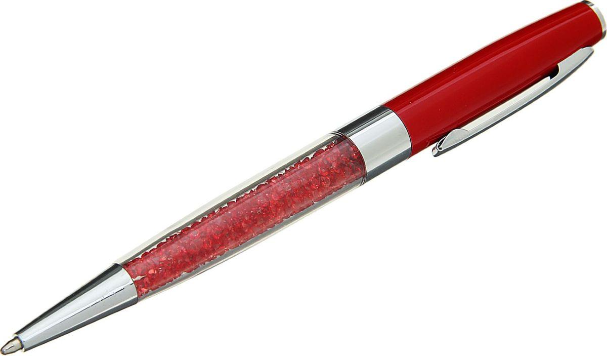 Ручка шариковая Стразы цвет корпуса красный синяя1509123