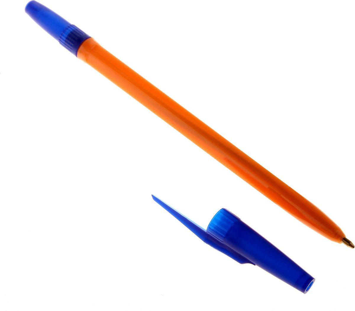 Стамм Ручка шариковая 511 Orange синяя