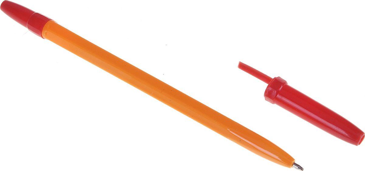 Ручка шариковая WX-583 красная639291Ручка шариковая WX-583 стержень красный, корпус оранжевый с красным колпачком — классическая шариковая ручка. Если вы ценитель качества, удобства и не любите отвлекаться на разные мелочи, то этот товар для вас. Шариковый пишущий узел и паста на масляной основе сделали такой вид ручки самым распространенным и популярным во всем мире. Шариковые ручки самые экономичные, их надолго хватает. Писать этими ручками легко и удобно, густые чернила не растекаются на бумаге и не вытекают при переноске. Выгодно заказывайте шариковые ручки оптом на нашем сайте — выбирайте практичность и надежность.