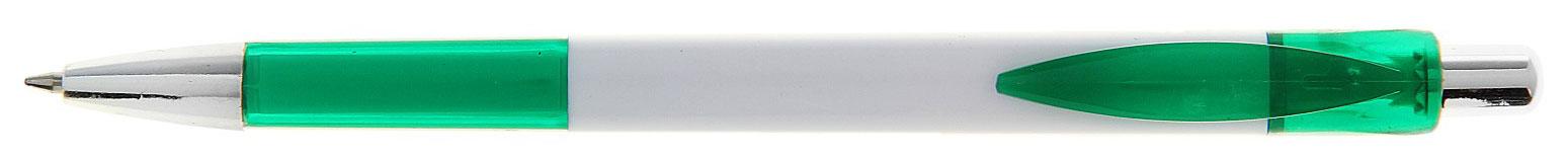 Calligrata Ручка шариковая Лого Квадрат цвет корпуса белый зеленый синяя