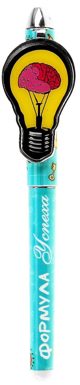 Ручка шариковая Формула успеха синяя122282Яркая и забавная - это настоящая находка для тех, кто любит не только функциональные, но и красивые аксессуары. Оригинальный принт изделия не оставит никого равнодушным и будет радовать своего обладателя день за днем. Такая ручка особенно придется по душе детям, всегда предпочитающим веселые вещи скучным и однообразным. Она комплектуется авторской упаковкой с душевными пожеланиями, что сделает ваш подарок еще более запоминающимся.