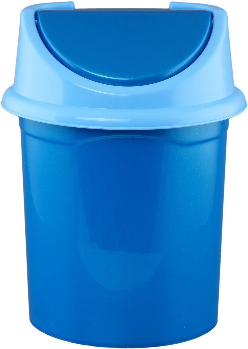 Ведро для мусора Violet , с крышкой, 8 л810377Удобное ведро для мусора Violet, выполненное из высококачественного износостойкого пластика, оснащено крышкой. Ведро подходит для использования в ванной комнате или на кухне. Стильный дизайн и яркая расцветка прекрасно подойдет для любого интерьера ванной комнаты или кухни.