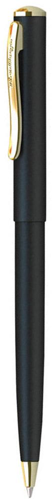 Berlingo Ручка шариковая Velvet Prestige цвет корпуса черный золотистыйCPs_72735Стильная и удобная шариковая ручка Berlingo Velvet Prestige с высококачественными чернилами обеспечивает ровное и мягкое письмо. Элегантная автоматическая шариковая ручка Berlingo Velvet Prestige изготовлена из меди и покрыта лаком. цвет корпуса ручки - черный, а элементы ручки - золотистые. Цвет чернил - синий. Диаметр пишущего узла - 0,7 мм. Ручка упакована в индивидуальный пластиковый футляр.