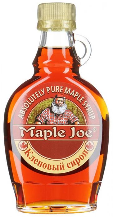 Maple Joe кленовый сироп, 189 мл430125Канадский кленовый сироп Maple Joe в оригинальном стеклянном кувшине. 100% кленовый сироп без добавления сахара: сладость достигается за счет натуральной глюкозы и сахарозы, полученных из сока клена.
