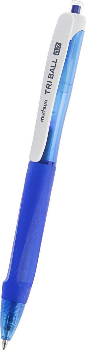 MunHwa Ручка шариковая Triball синяя2269007